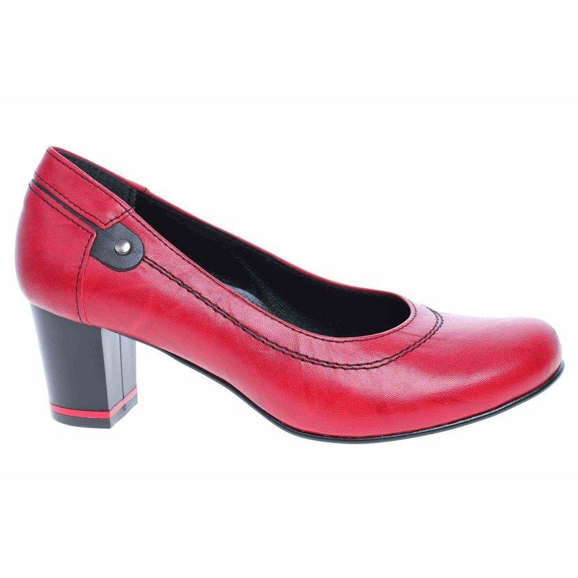 Barton dámské lodičky 2414 3 červená  e2fc8d4c7e