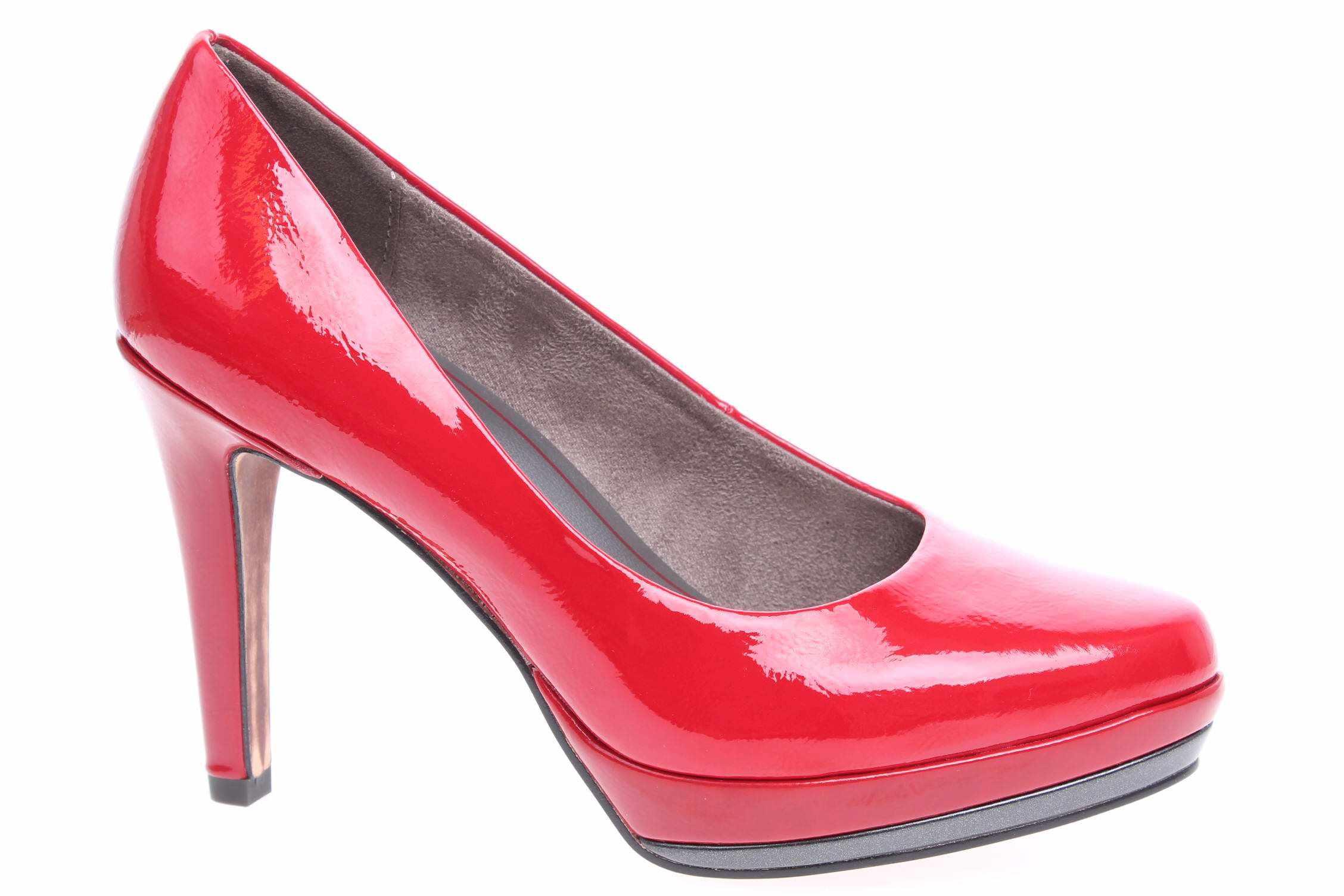 Marco Tozzi dámské lodičky 2-22444-39 červené velikost 40  eded17cbe8