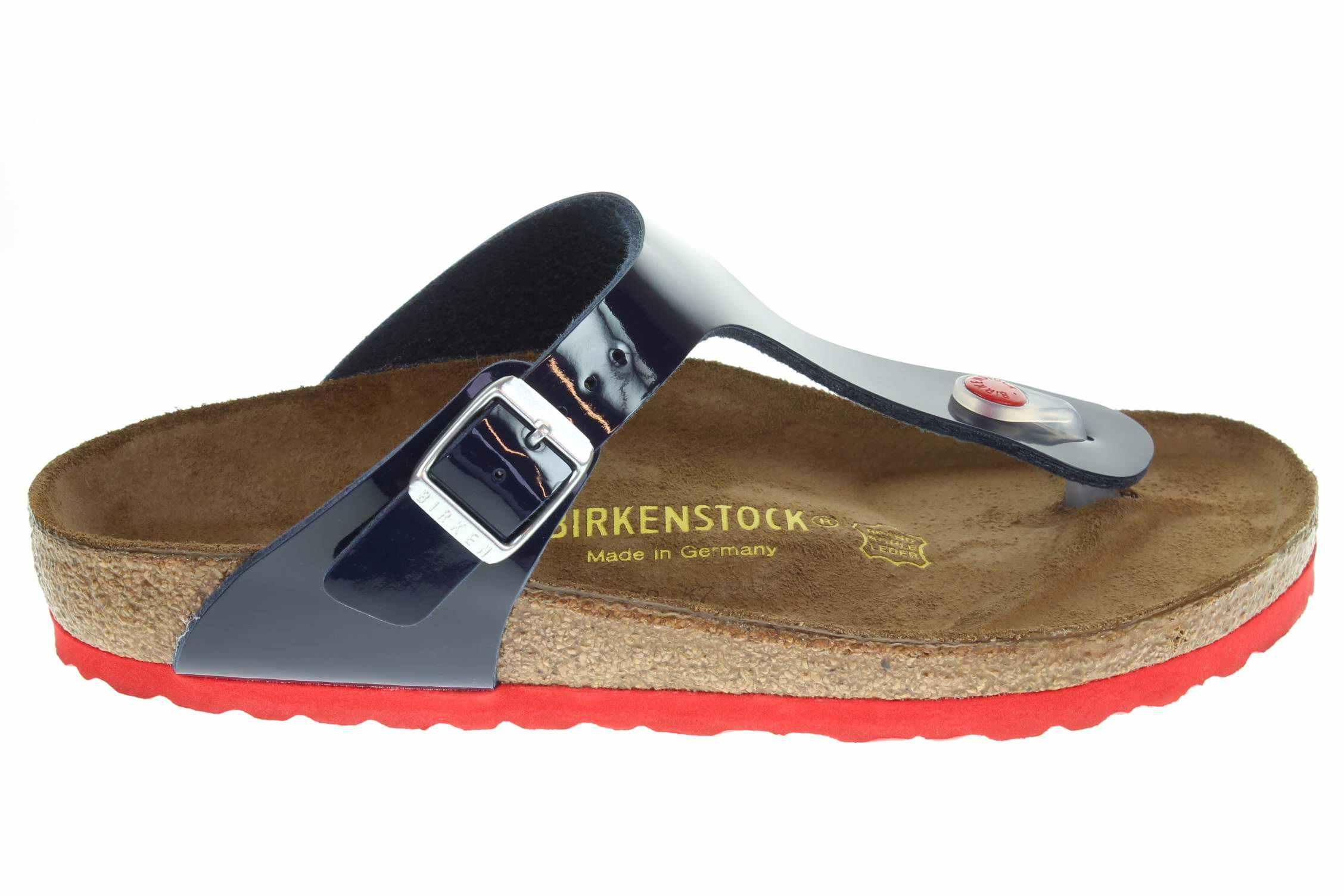 49fe8e41a3fa Birkenstock Gizeh dámské pantofle 845881 modré