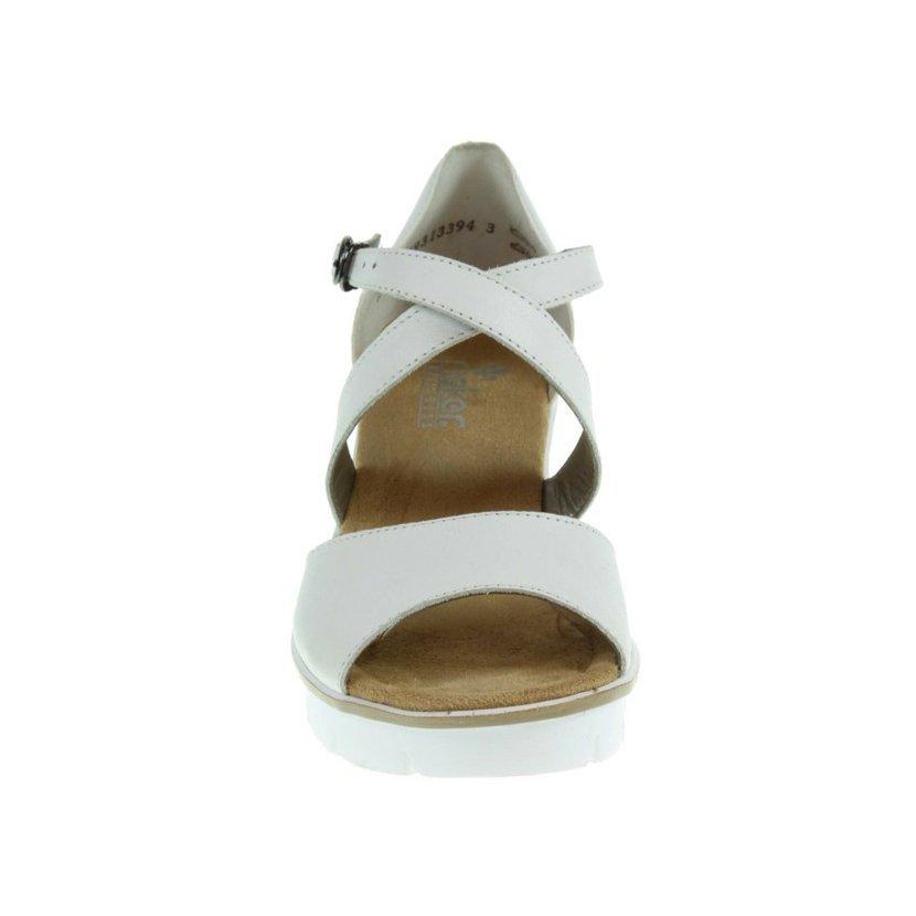 99e6460ba24 Rieker dámské sandály 68548-80 bílé