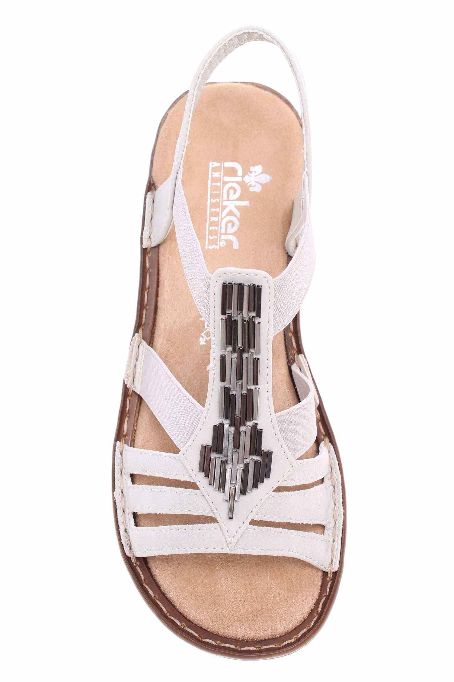 bdad37446dac Rieker dámské sandály 60800-80 weiss