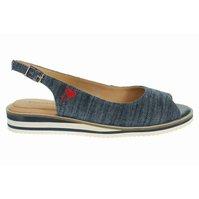 a0ef3127ab Salamander dámské sandály 32-40405-30 denim navy