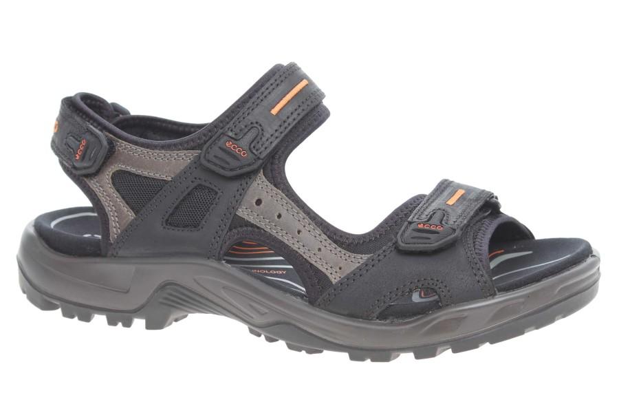 Ecco Offroad pánské sandály 06956450034 black-mole-black velikost 43 ... 49c3275e3f